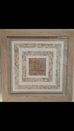 Paper texture framed in wood by Picturesque