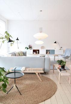 La regla de los 3 pies es una de esas que no deberías romper si quieres que tu casa sea no sólo bonita, sino además confortable.