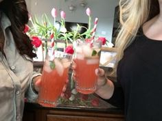 Girl's Day cocktails and recipes with Amber Jefferies. Click for more entertaining tips!