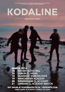 KODALINE - With their 2013 UK/ Ireland tour now totally sold out, the band have announced a 2014 UK/ Ireland tour. Tickets on sale Friday 13th September -->  http://www.allgigs.co.uk/view/artist/75256/Kodaline.html