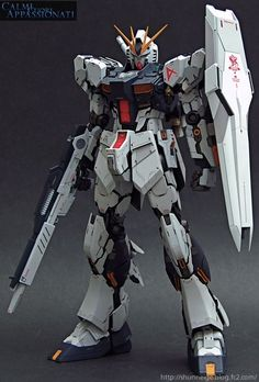MG Nu Gundam Ver.ka - Customized Build Modeled by shunneige