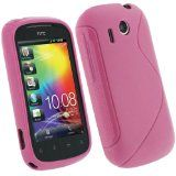 igadgitz Dual Tone Pink Durable Crystal gel Skin (Thermoplastic Polyurethane TPU) Case Cover for HTC Explorer Android Smartphone Cell Phone + Screen Protector Reviews - igadgitz Dual Tone Pink Durable Crystal gel Skin (Thermoplastic Polyurethane TPU)