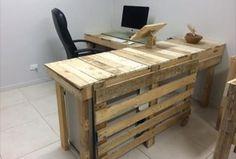 Pallet Office Furniture – DIY