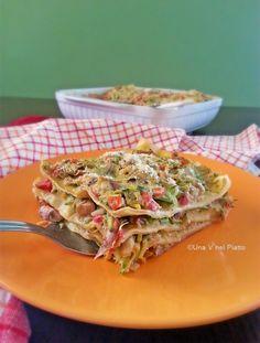 Lasagne di verdure estive e besciamella vegetale on http://www.unavnelpiatto.it