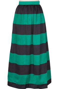 Classic Day Skirt - Striped