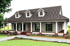 This is it! Do Board and Batten and tin roof!  My dream farmhouse layout.