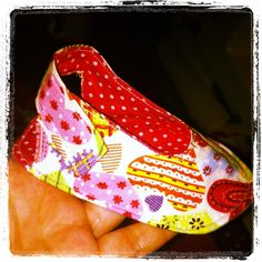 Zapatito de tela. Fabric little shoe