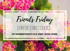 Friends Friday Interview: Erin of Erin's Choice