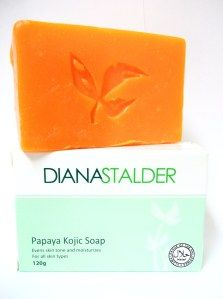 kojic soap before and after