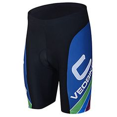 Women's Cycling Underwear - G4Free Unisex Cycling Shorts Bicycle Tights Bike Pants Half Pants 4D COOLMAX Gel Padded Lycra Pants Bike Clothing BlackBlue Size M To XXXL >>> You can find more details by visiting the image link.