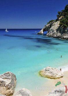 Turquoise Beach, Sardinia, Italy #comunale