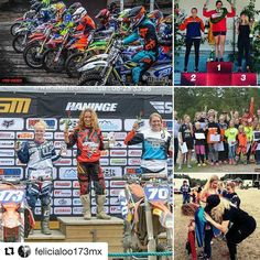 """It was awesome to see you ride this year! #passion -> #Repost @felicialoo173mx Year 2016 is almost over and a big fCK you goes out to all those people Who think they have the authority to tell me how big to dream! I dreamed really big for this year and I made it From being a kid on 85cc to a women on 125cc on just a weekend and started racing among the """"big girls"""" . Like in my dreams I stired things up a bit. Some of the things I' ve achived this year is.. Top 10 in every Mxsm round on the…"""