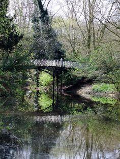 Bridge in Vondelpark (by pingwynne)