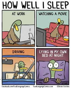 How Well I Sleep funny comics lol humor funny pictures funny photos funny images hilarious pictures Funny Duck, The Funny, Fowl Language Comics, Humor Grafico, Sleep Deprivation, Story Of My Life, Just For Laughs, Funny Comics, Funny Photos