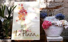 Flores la Plaza en Parador de Corias