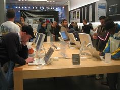 Have you ever been into an apple Technology shop?