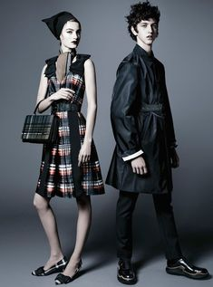 Prada Pre-Fall 2015 Campaign by Steven Meisel - Fashion Copious