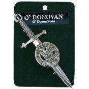 Irish Family Kilt Pin