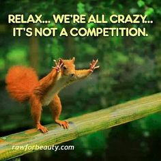 Relax! We're ALL crazy! #humor #weekend #funny