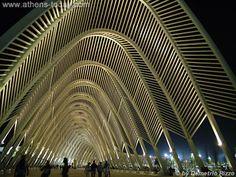Olympic  complex in Athens, Santiago Calatrava's Agora