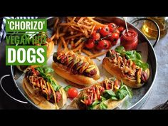 Hi Guys, Its Gaz!! Im back!! This is the first episode in Season Three, Chorizo Style Hot Dogs! Made using Seitan, a really amazing recipe for sausages that ...