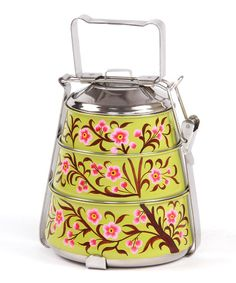 Green Vintage Tiffin; how lovely!