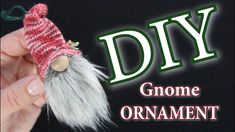 Christmas Crafts Sewing, Christmas Craft Show, Christmas Gnome, Crochet Christmas, Holiday Crafts, Christmas Ornament, Christmas Holidays, Christmas Gifts, Diy Arts And Crafts