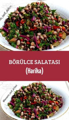 Black Eyed Peas Salad (Great) – My Delicious Food - Salat Ideen Healthy Appetizers, Healthy Salads, Healthy Drinks, Appetizer Recipes, Healthy Eating, Healthy Foods, Black Eyed Peas, Black Eyed Pea Salad, Best Salad Recipes