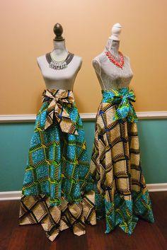 African Ankara Print Mix ADARA MAXI SKIRT by Stylenspire on Etsy https://www.etsy.com/listing/220426803/african-ankara-print-mix-adara-maxi