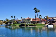 Waterfront Homes in Arizona...Yes, sort of... Scottsdale Waterfront Homes