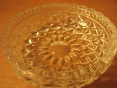 Small vintage glass nut / candy dish trinket bowl tray picclick.com