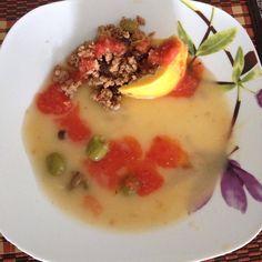 QUESO RELLENO POR LAURA ROMERO A #entrada #sopa #queso #platillo #chef #easy #receta #recetasitacate #itacate #aniversario #fiestas