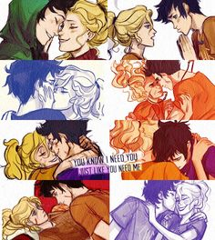 Most memorable moment (HoO)? No wait when they fell asleep in the stables! No when Percy saved Annabeth from Octavian at Fort Sumpter! When Percy only remembered Annabeth! I guess I'll just say all things Percabeth! Percy Jackson Annabeth Chase, Percy Jackson Fan Art, Percy Jackson Ships, Percy And Annabeth, Percy Jackson Books, Percy Jackson Fandom, Percabeth, Solangelo, Frank Zhang