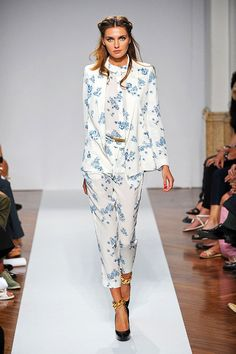 Floral Prints by Normaluisa spring summer 2012