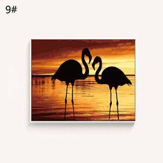Pink flamingo/ flamingo print/ Paint By Number kit flamingo/ painting flamingo on Canvas/ Acrylic flamingo/ flamingo gift/ flamingo wall art by ColourLifeFinds on Etsy https://www.etsy.com/au/listing/542730338/pink-flamingo-flamingo-print-paint-by