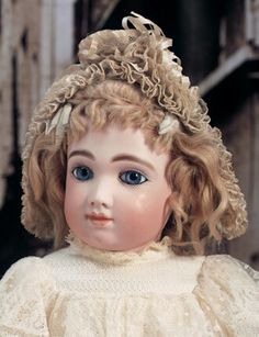 A.T. French bebe antique doll