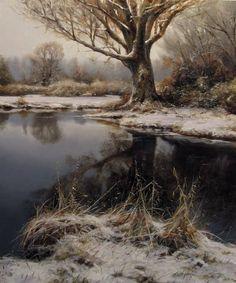 Beautiful nature paintings by Renato Muccillo Fine Arts Studio #OilPaintingSeascape