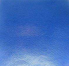 Papier aspect cuir adhésif 30x30 'Lilly Pot'Colle' Cuir Bleu