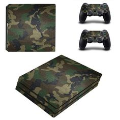 Army Dress ps4 pro edition skin decal for console and controllers