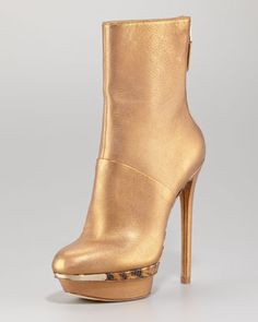 Fierce! Platform Stiletto Boot  by B Brian Atwood at Neiman Marcus. #LookAllure