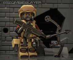 Lego modern combat minifigure!