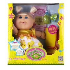I do not know why I havent gotten my 2 year old one yet, but this is top my Christmas list for her. I used to LOVE my CP doll! Memories!  Amazon.com: Cabbage Patch Babies Doll