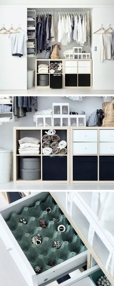 No matter the space or budget you're working with, organisation is the secret ingredient to any wardrobe.: