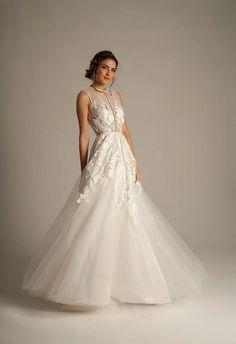 Eugenia Couture: Bridal Gown:  A-Line: Natural Waist   KleinfeldBridal.com