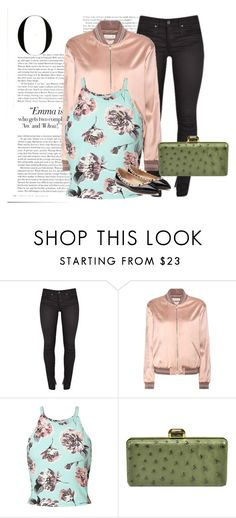 """""""Daily Casual"""" by liedie ❤ liked on Polyvore featuring Yves Saint Laurent, Miss Selfridge, Oscar de la Renta, Valentino and Vanity Fair"""