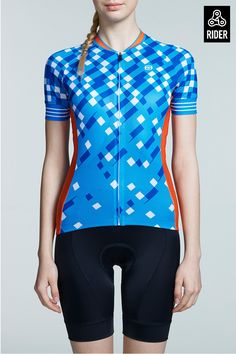 Lightweight Quick Dry Womens Cycling Jersey for Sale Team Cycling Jerseys, Women's Cycling Jersey, Cycling Gear, Cycling Outfit, Cycling Clothing, Monster Cycle, Womens Cycling Kit, Bike Wear, Cycling Workout