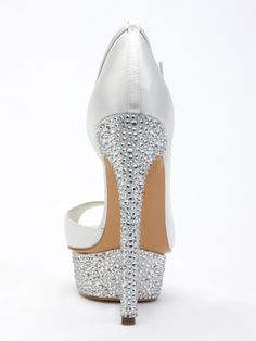 a54e732f58b8 Crystal embellished Benjamin Adams wedding shoe from the 2014 collection