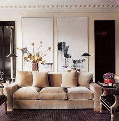 Valentino at Home: London: Fab sofa
