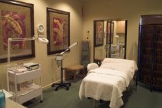 Spa Room with a Variety of Treatments Available at the Cancun Resort in Las Vegas, NV