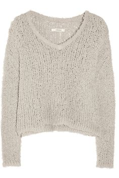J BRAND  Martha loose-knit cotton-blend sweater